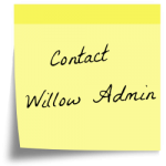 Contact Willow Admin