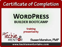 wordpress-builder-bootcamp-certificate-techie-mentor