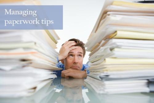 Managing Paperwork Tips