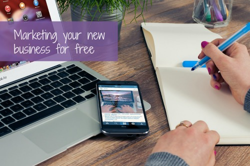 Marketing your new business for free
