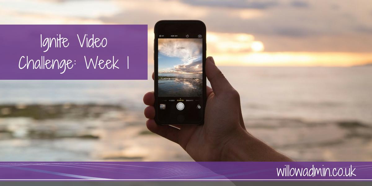 video challenge week 1
