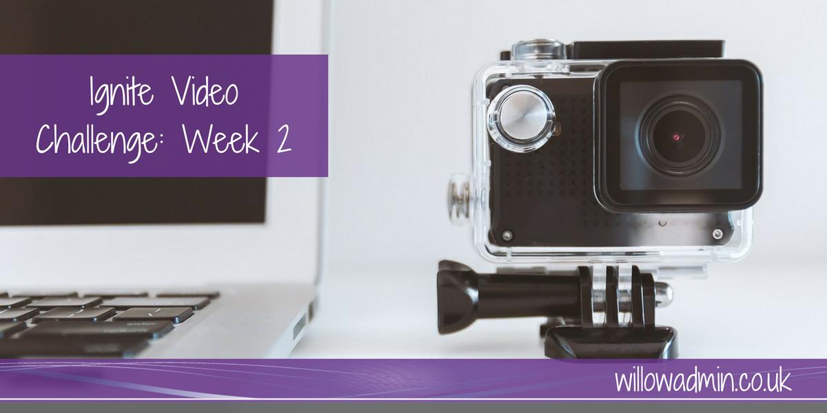 video challenge week 2