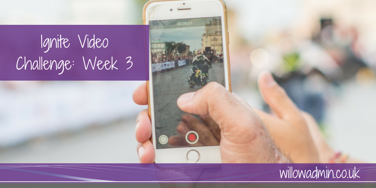 video challenge week 3