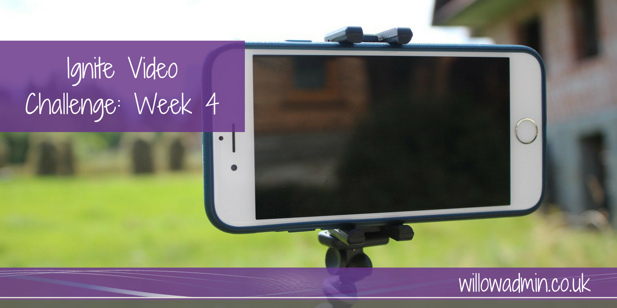video challenge week 4