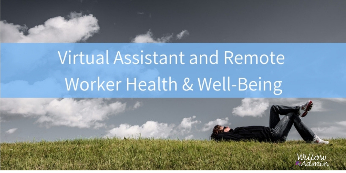 Virtual Assistant and Remote Worker Health and Wellbeing Facebook Group